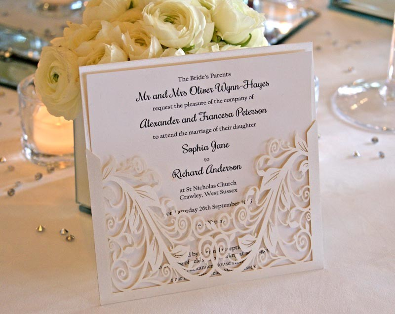 bespoke wedding invitations | Wedding