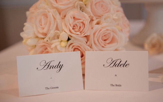 Wedding Place Cards Stationery Sussex London Surrey Kent